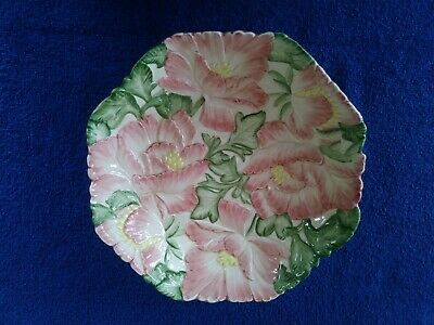 """1988 Fitz and Floyd Magnolia Serving Dish 9.25"""""""
