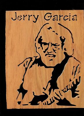 8 Jerry Garcia Queen ZZ Top The Who  Stevie Ray Vaughan Scroll Saw Wood Art