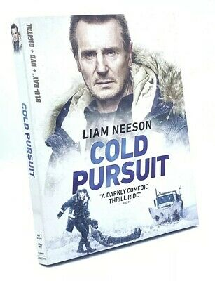 Cold Pursuit (Blu-ray+DVD+Digital, 2019) NEW with Slipcover