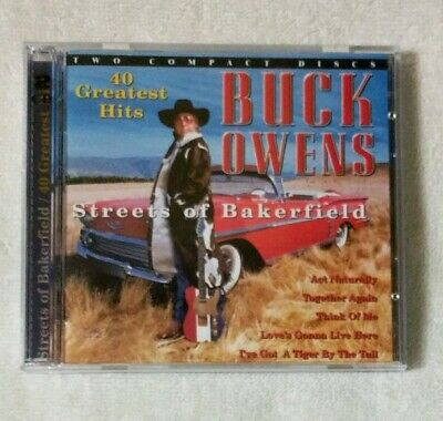 used BUCK OWENS Streets Of Bakersfield 40 Greatest Hits 1999 2-CD