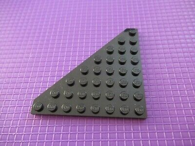 Aile Wedge plate 8x8 Cut Corner gris//grey Lot x2 Lego 4268343-30504