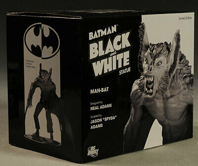 Batman Black And White Man-Bat Statue DC Neal Adams Very Rare New & Sealed!