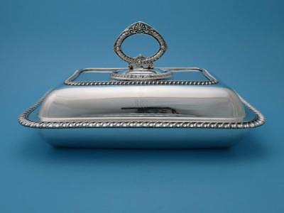 Warmhalteschale - versilbert - Sheffield um 1920 - Mappin & Webb - #GSF1295