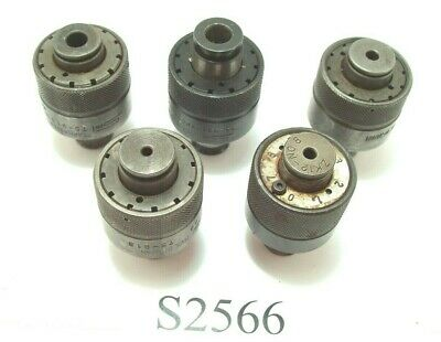5 Pc. Tap Collet Set For Bilz #1 Tappers More Bilz Tooling Also Listed Lot S2566