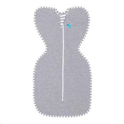 Love To Dream Swaddle UP, Gray, Small, 7-13 lbs., Dramatically better sleep,
