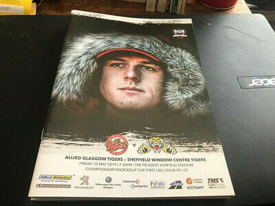 Glasgow Tigers V Sheffield Tigers--Speedway Programme---10Th May 2019