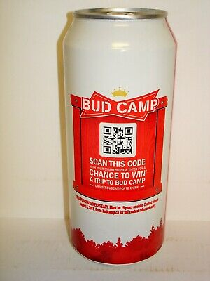 BUDWEISER BUD ICE 5 5% Alcohol 24 oz Aluminum Beer Can
