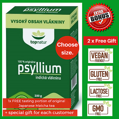 Psyllium Husk Powder Natural Fibre Dietary IBS Colon Cleanse Weight Los 98% Pure