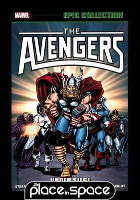 Avengers Epic Collection Under Siege - Softcover