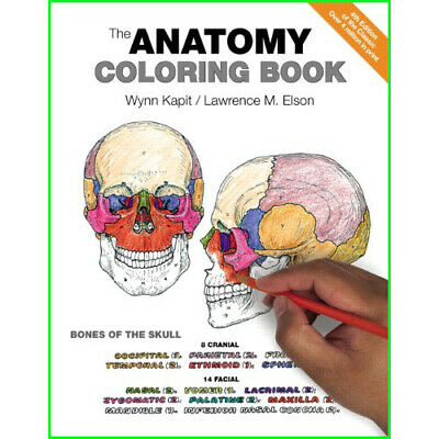 NETTER\'S ANATOMY COLORING Book: with Student Consult Access, 2e ...