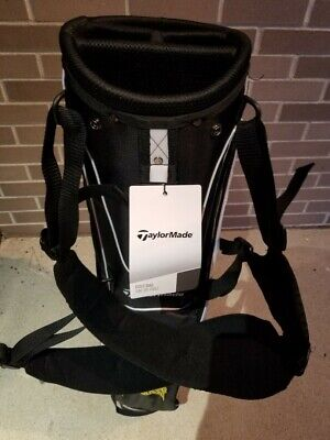 "Taylormade ""Founders"" TM16 Custom Golf Bag Blk/Wte WITH 12 Titleist Pro V1 Balls"