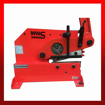"""WNS LC10 Metal Lever Cropper Shear Guillotine 200mm 8"""" Flat Round Square Angle"""