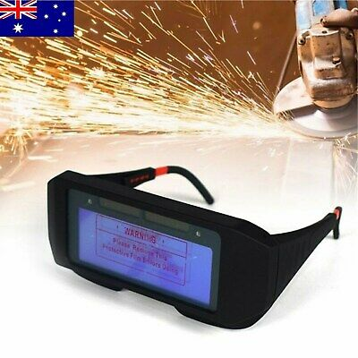 Auto Powered Solar Darkening LCD Mig Mask Welding Glasses Goggles Helmet Eyes AU