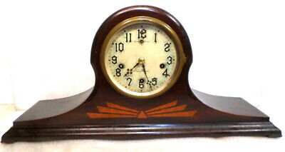 1929 New Haven Westminister Chime Mantle Clock--Mechanical Pendulum Driven