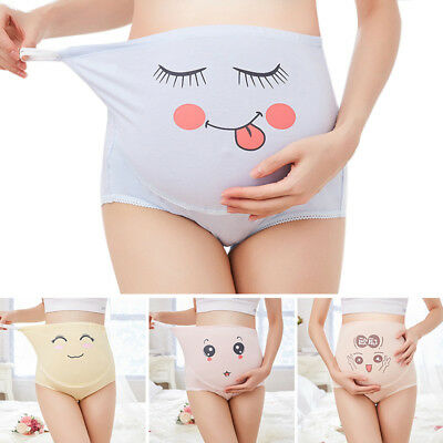 Maternity Panties Underpants Belly Support Briefs Pregnant Underwear Knickers