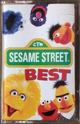 SESAME STREET GETTING Ready For School USA Cassette Tape - $9 99