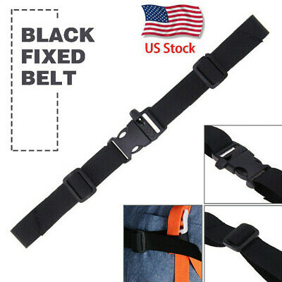 Adjustable Backpack Chest Strap Rucksack Weight Reduction Fixed Buckle USA