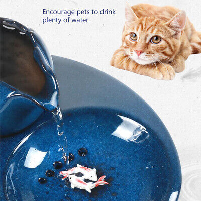 Pet Cat Dog Drinking Fountain USB Automatic Circulating Water Dispenser Drinker