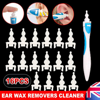 OZ Ear Wax Cleaner Removal Multi Earwax Earpick Remover Spiral Safe Tip Tool