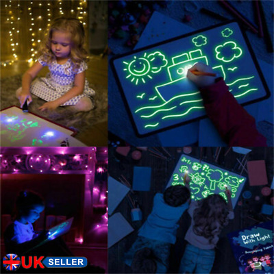 Draw With Light Fun And Developing Toy Drawing Board Magic Draw Educational Kids
