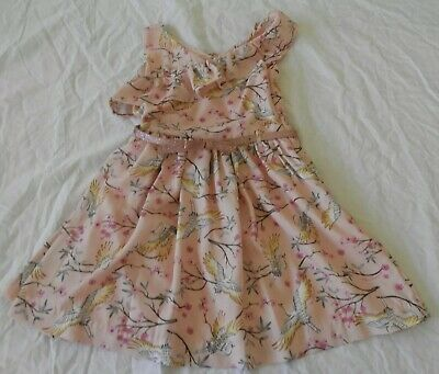 Girls size 5 Pink  Sparkly Belt summer PARTY dress TUTU'S & Tambourines NEW