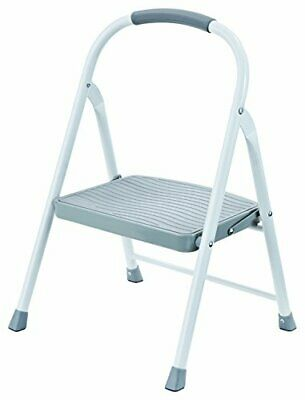 Magnificent Rubbermaid Rm 2W Folding 2 Step Steel Frame Stool With Hand Short Links Chair Design For Home Short Linksinfo