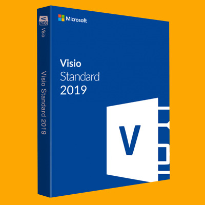 Microsoft Visio Standard 2019  Lizenz - Vollversion - Deutsch und English