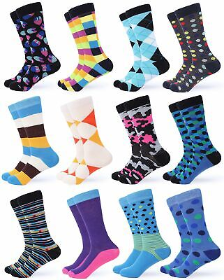 Gallery Seven Mens Dress Socks - Funky Colorful Socks for Men - Chic collectio..