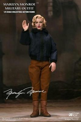 "Star Ace 1/6 scale 12"" Marilyn Monroe Military Outfit Figure w/Patchs SA0055"