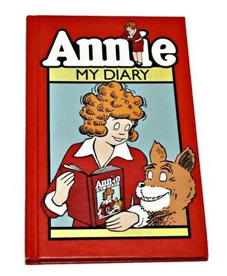 Annie My Diary 1980 Vintage Hardcover Collectible Diary Little Orphan Annie Rare