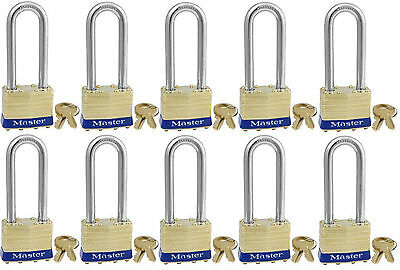 Master Lock  Keyed Alike 2KALJ Lot 10