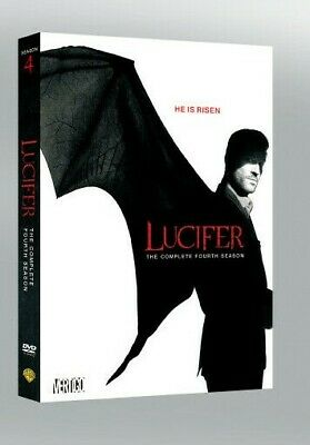 Lucifer: Season 4 [DVD] (2019) Complete Boxset New & Sealed UK Compatible