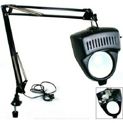 Illuminated Table Magnifier Lamp with Mounting Clamp (MC327B)