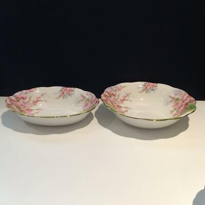 Royal Albert Blossom Time Lot: Oval + Round Vegetable Serving Dishes Ch5370