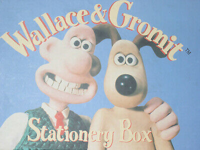 WALLACE & GROMIT™ ©1989 Stationary Set in Box with Hidden Drawer