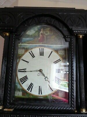 Carved Grandfather Clock - Stunning