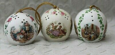 Three Taylor Of London Pomanders Made In England (2)