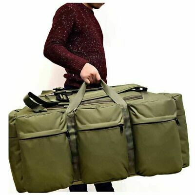 90L Large Military Tactical Backpack Outdoor Camping Trekking Duffle Luggage US