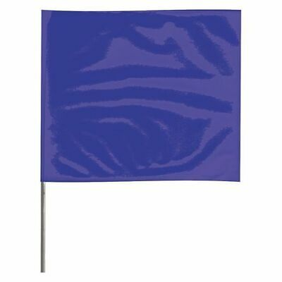 ZORO SELECT 2318B-200 Marking Flag,Blue,Blank,Vinyl,PK100