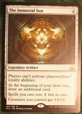 MTG -The Immortal Sun, Rivals of Ixalan - x1 (Mint) Magic The gathering
