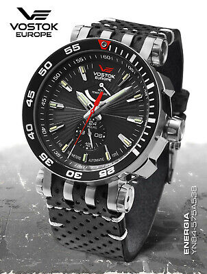 Vostok europe Energy Rocket Automatic Power Reserve YN84-575A538 from Mai 2020