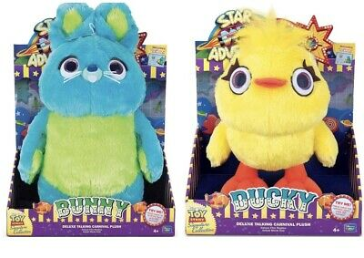 Signature Collection Toy Story 4 Bunny & Ducky Carnival Plush Deluxe FilmReplica