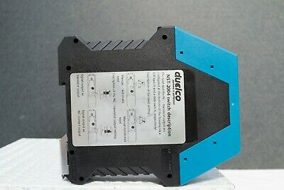 Duelco NST-2004F Emergency STOP Relay SAFETY RELAY 24VDC
