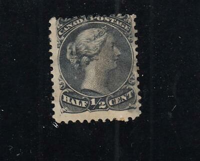 CANADA # 21 1/2ct LARGE QUEEN VERY LIGHTLY USED CAT VALUE $40