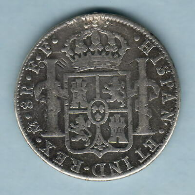 Mexico. 1783-FF 8 Reales.. Mexico Mint..  aF/F