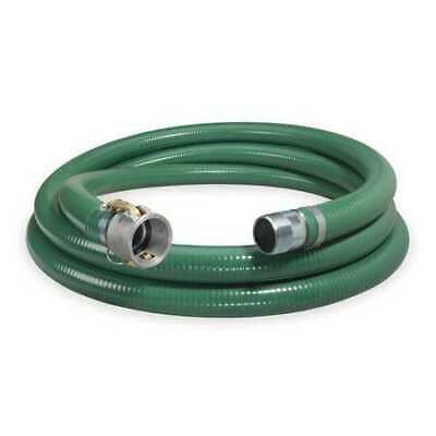 "CONTINENTAL CONTITECH 1ZMW5 1-1/2"" ID x 20 ft PVC Discharge & Suction Hose GN"