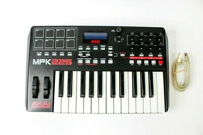 AKAI PROFESSIONAL MPK225 | 25-Key USB MIDI Keyboard & Drum