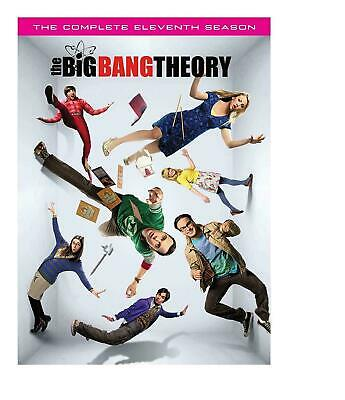 The Big Bang Theory: The Complete Eleventh Season 11 (DVD 2018) Brand New Sealed