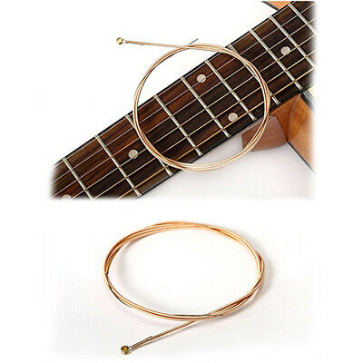6 Pcs/Set Strings Bronze Durable Metal Steel Strings For Acoustic Guitar Usable