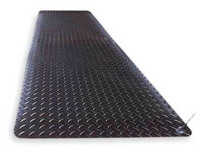 NOTRAX 826S0312BL-RS Static Dissipative Mat,Black,3ft.x12ft.